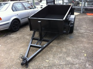 heavy duty box trailer sydney