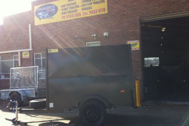 fully enclosed trailers for sale in Sydney